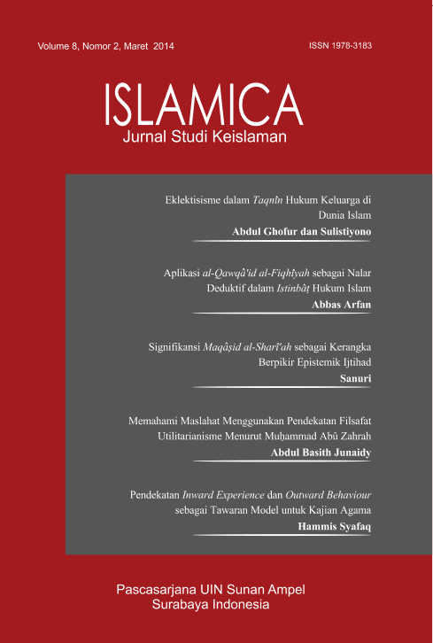Islamica Vol 8 No.2 Maret.PNG